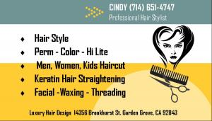 WELCOME TO CINDY HAIR !