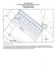 $8,200 - 7.97 Ac Imperial, Pecos County TX 79743 - Electric & Water to corner of parcel section